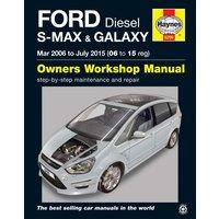 Haynes Ford S-MAX & Galaxy Diesel (2006-2015) Manual