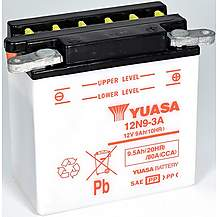 image of Yuasa 12N9-3A 12V Conventional Battery