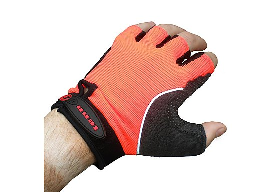 Tenn Cycling Fingerless Gloves/Mitts Orange L