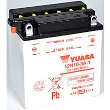 image of Yuasa 12N10-3A-1 12V Conventional Battery