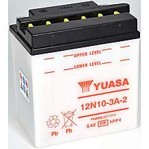 image of Yuasa 12N10-3A-2 12V Conventional Battery