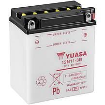 image of Yuasa 12N11-3B 12V Conventional Battery
