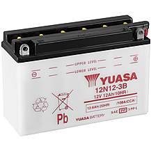 image of Yuasa 12N12-3B 12V Conventional Battery