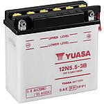 image of Yuasa 12N5.5-3B 12V Conventional Battery