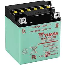 image of Yuasa 12N5.5A-3B 12V Conventional Battery