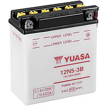 image of Yuasa 12N5-3B 12V Conventional Battery