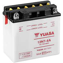 image of Yuasa 12N7-4A 12V Conventional Battery