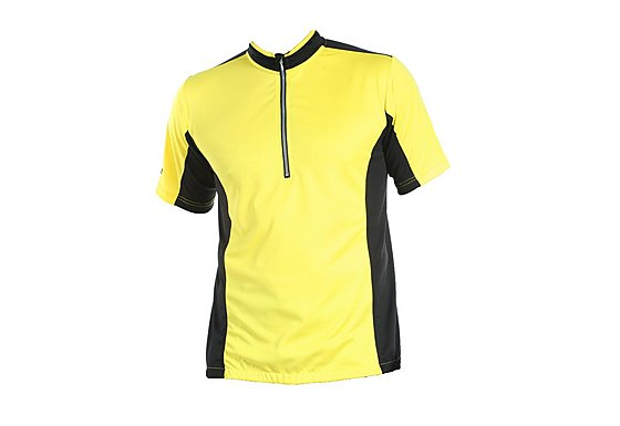 Tenn Mens Cool Flo Short Sleeve Cycling Jersey - Yellow Large