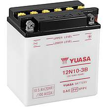 image of Yuasa 12N10-3B 12V Conventional Battery