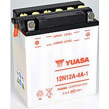 image of Yuasa 12N12A-4A-1 12V Conventional Battery