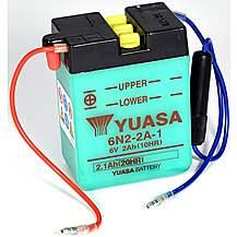 Yuasa 6N2-2A-1 6V Conventional Battery