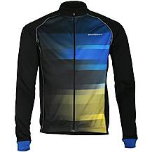 image of Boardman Mens Long Sleeve Jersey Blue Stripe