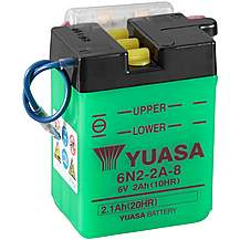 image of Yuasa 6N2-2A-8 6V Conventional Battery