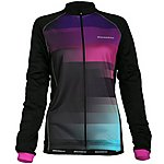 image of Boardman Womens Long Sleeve Jersey Purple Stripe