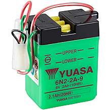 image of Yuasa 6N2-2A-9 6V Conventional Battery