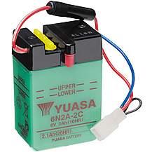 image of Yuasa 6N2A-2C 6V Conventional Battery