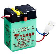 image of Yuasa 6N2A-2C-3 6V Conventional Battery