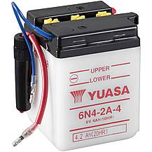 image of Yuasa 6N4-2A-4 6V Conventional Battery