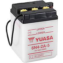 image of Yuasa 6N4-2A-5 6V Conventional Battery