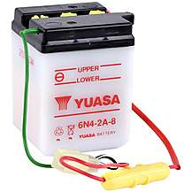 image of Yuasa 6N4-2A-8 6V Conventional Battery