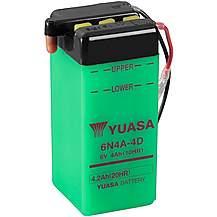 Yuasa 6N4A-4D 6V Conventional Battery