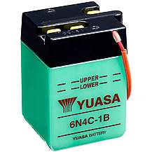 image of Yuasa 6N4C-1B 6V Conventional Battery