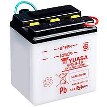 image of Yuasa 6N5.5-1D 6V Conventional Battery