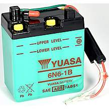 image of Yuasa 6N6-1B 6V Conventional Battery