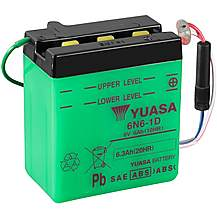 image of Yuasa 6N6-1D 6V Conventional Battery