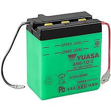 image of Yuasa 6N6-1D-2 6V Conventional Battery
