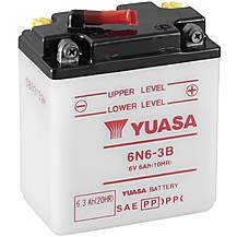 image of Yuasa 6N6-3B 6V Conventional Battery