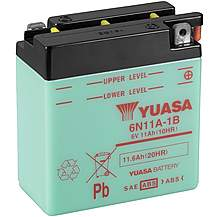 image of Yuasa 6N11A-1B 6V Conventional Battery