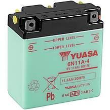 image of Yuasa 6N11A-4 6V Conventional Battery