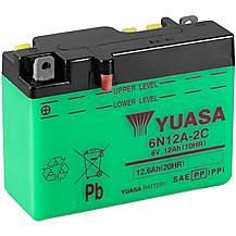 image of Yuasa 6N12A-2C 6V Conventional Battery