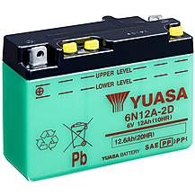image of Yuasa 6N12A-2D 6V Conventional Battery