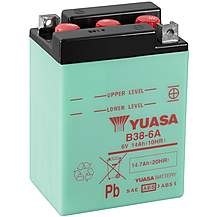 image of Yuasa B38-6A 6V Conventional Battery
