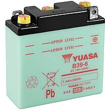 image of Yuasa B39-6 6V Conventional Battery