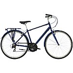 "image of Raleigh Pioneer 1 Mens Hybrid Bike - 17"", 19"", 21"" Frames"