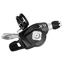 image of SRAM X9 9 Speed Bike Rear Trigger Shifter - Graphite/Silver