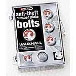 image of Richbrook Vauxhall Anti-Theft Number Plate Bolts