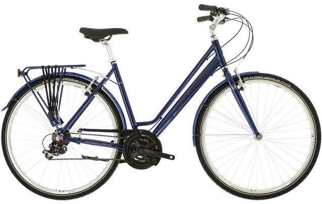 Raleigh Pioneer 1 Womens Hybrid Bike Lilac 21