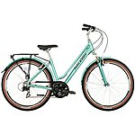 image of Raleigh Pioneer Trail Celeste Womens Hybrid Bike