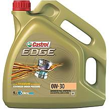 image of Castrol Edge 0W30 Oil 4 Litre