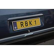 image of Richbrook Stainless Number Plate Surround
