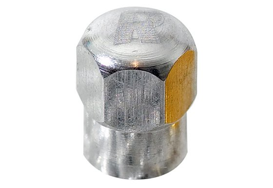 Richbrook Valve Caps 'Silver'