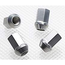 image of Richbrook Aluminium Wheel Nuts 'Silver' M12 x 1.50