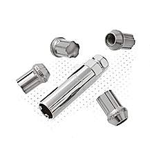 image of Richbrook Aluminium Locking Wheel Nuts M12 x 1.50 'Silver'