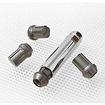 image of Richbrook Aluminium Locking Wheel Nuts M12 x 1.25 'Titanium'