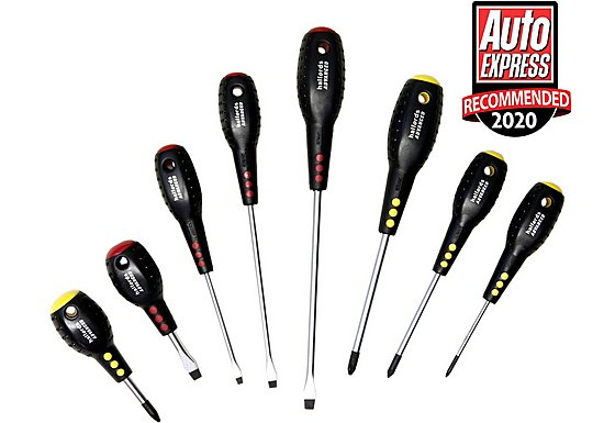 Halfords Advanced Professional 8 piece Screwdriver Set
