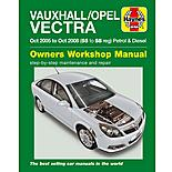 Haynes Vauxhall / Opel Vectra (Oct 05 - Oct 08) Manual